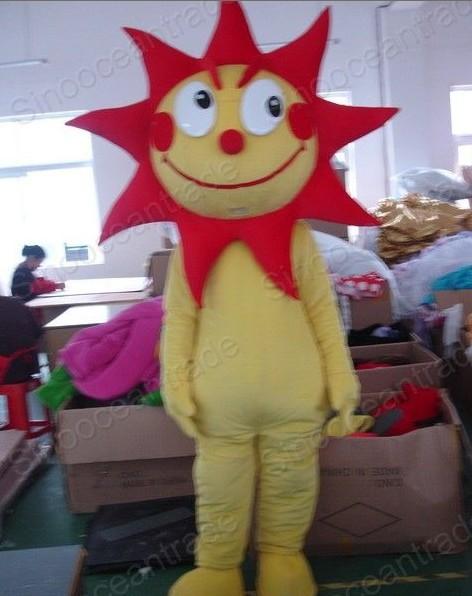Sun Costume Sun Mascot Costume Cartoon