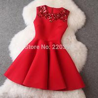 2014 New spring summer women dress fashion casual women clothes office dresses long-sleeve dress send belt plus size white/black