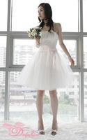 Free Shipping Precedes 2014 new Formal dress tube top fish tail long bride dinner evening dress women dress