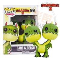 [1 pc] 2014 new genuine funko pop Train Your Dragon 2 BARF & BELCH vinyl figure 3.75 inch vinyl doll child toy  free shippping