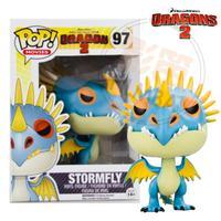 [1 pc] 2014 new genuine funko pop Train Your Dragon 2 stormfly vinyl figure 3.75 inch vinyl doll child toy gift free shippping