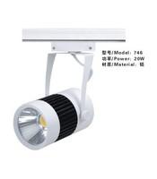 Free Shipping 20w integration LED track light for store/shopping mall lighting lamp Color optional White/black Spot light