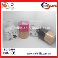 wholesale kinesio sports safety PRO Elastic Kinesiology Therapeutic synthetic kinesiology tape