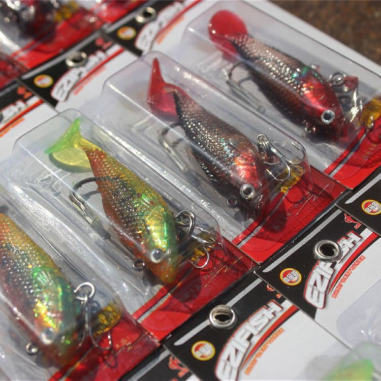 Sea bass killer imported the bass become warped lips sea fishing bait hooks road with bait for fishing(China (Mainland))