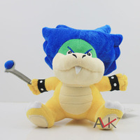 50PCS 16CM Anime Game Super mario Kuba Kid Ludwing ornaments plush soft Classic toy Collection doll toy