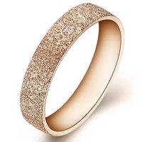 Fashion Brand Jewelry New Shinning Rose gold Ring 18K gold Plated Ring Elegant Anello Anneau Anel Joya Schmuck no min order