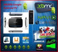 MK888 B (K-R42/CS918 Q7) Android 4.2 TV Box RK3188 Quad Core IPTV RJ-45 USB WiFi XBMC Smart TV Media Player w/ Remote Controller