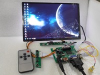 free shipping  HDMI+2AV+VGA+Rear View Driver Board+10.1inch B101UAN02.1 1920*1200 IPS LCD Display