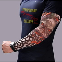 New! Nylon Stretchy Temporary Tattoo Sleeves New Fashion Arm Stockings free shipping