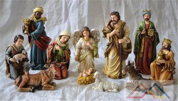 New 8' Nativity Set Resin LED Light Christmas Nativity Set, China Nativity Set(China (Mainland))
