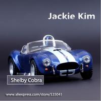 Free shipping (New Bulk) 1:32 1965 Shelby Cobra 427S / C alloy Car Model Toy for Children