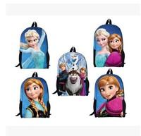 2014 children school bags mochila infantil kids frozen backpacks 6 colors girl school backpack children cartoon bag Freeshipping