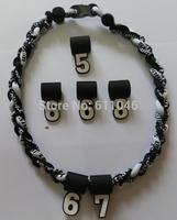 100pcs  Tornado necklace and 200pcs number pendant the total is 300pcs