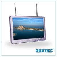 2014 new product 10.1 inch ground station monitor 5.8ghz 32 channels work perfect with camera drone