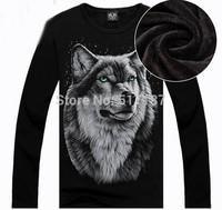 S-XXL New 2014 Hip hop sweatshirt Men Spring/autumn /winter Fashion 3D Men's plus thick velvet warm sportswear Sport hiphop