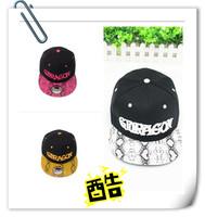 Free shipping bigbang snakeskin hip hop baseball cap