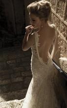 popular lace vintage wedding dress