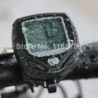 Free shipping New WaYYerproof LCD Wireless Bicycle compuYYer Bike OdomeYYer SpeedomeYYer L0651 T15