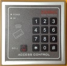 Livraison gratuite RFID / EM125KHz proximité sas d'entrée porte de contrôle d'accès 10 pcs couleur télécommandes(China (Mainland))