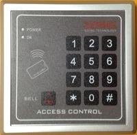 Free Shipping RFID/EM125KHz Proximity Entry Door Lock Access Control System  10pcs Color Keyfobs