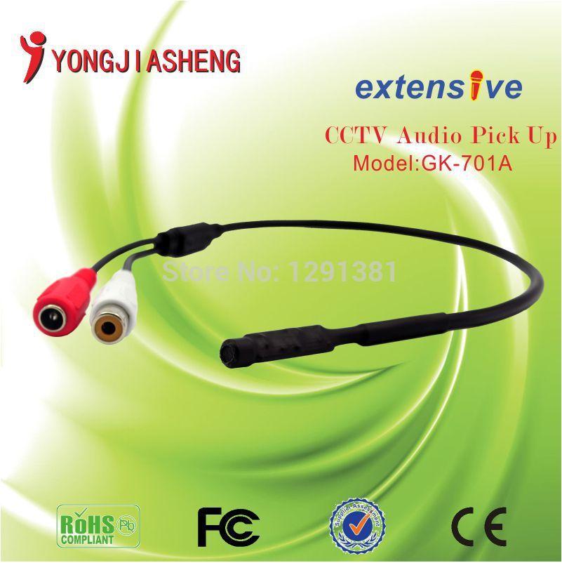 Mini 20pcs/lot surveillance Audio Microphone, Auido Pickup sound monitor(China (Mainland))