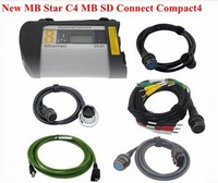 Wholesale Professional Auto diagnostic tool NEW MB Star C4 MB SD connect compact 4 with WIFI