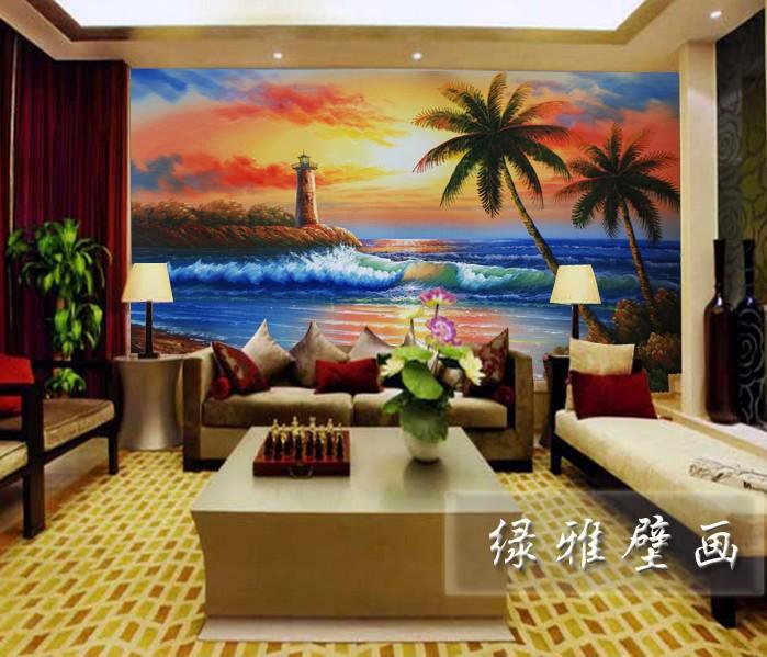 ... room sofa bedroom TV background wallpaper wallpaper special waves