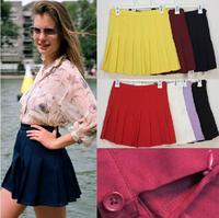 Speical Design Japan student JK school uniform preppy style pleated skirt  tennis skirt anime girl cos costume cosplay