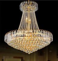 European-style chandelier crystal lamp  creative pendant   hotel penthouse floor living room lighting A005