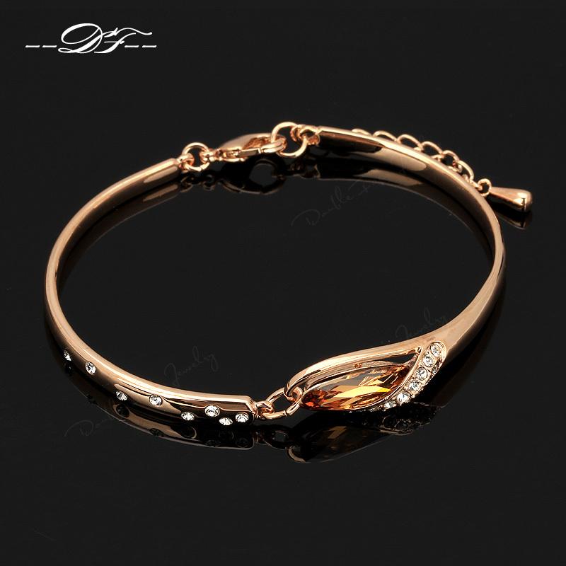 Bangle Bracelets Wholesale Romantic Slipper cz Diamond Cuff Bracelets Amp Amp Bangle Wholesale 18k Rose