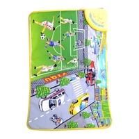 Portable cute musical carpet for Intelligence Development YQ3909 Happy Football Pattern