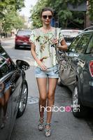 Free shipping fashion ladies shirt prints