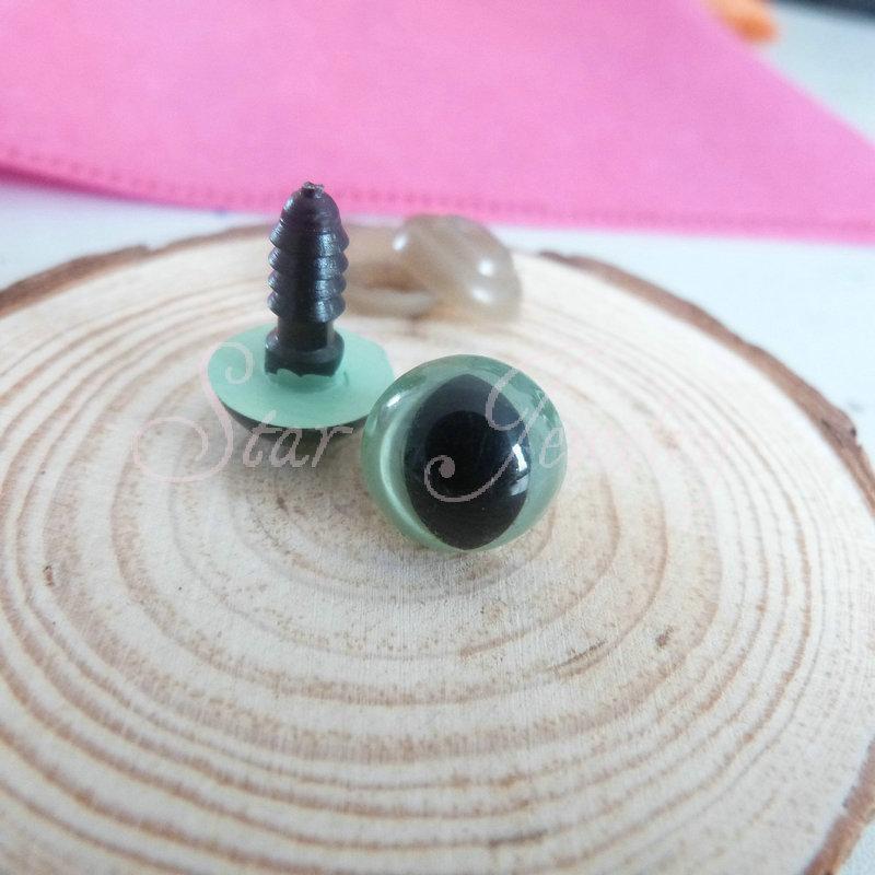 Olive Colored Eyes Handcraft Olive Green Color