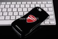 Free Shipping Cool Draco Ducati Allure PDU Ultra Slim Aluminum Bumper Case + Rubber Cover for iPhone 5 5s