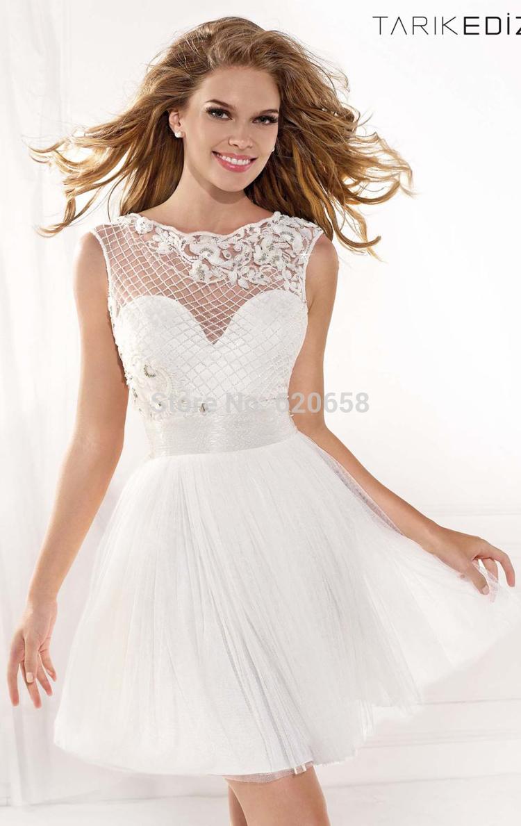 Short White Graduation Dress  Cocktail Dresses 2016