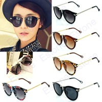 Women's Sunglasses Arrow Style Metal Frame Round Sonnenbrille 4 Colors Free shipping & Drop shipping