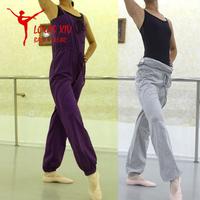 Louis xiv ballet pants type warm-up suspenders jumpsuit pants drawstring two ways