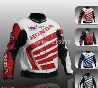 2014 Free shipping  PU racing jacket leather jacket  motobike jackets for man