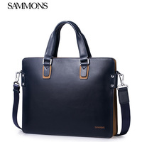 2014 New Men bag genuine leather designer handbags brand cowhide briefcase business male shoulder bag men messenger bags