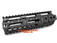 "Aluminum Quad Rail 4-weaver/picatinny Rail Carbine Rifle Free Floating 7"" Handguard W/ QD Swivel Housing For Airsoft AR15 M4/16"
