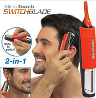 2014 new arrive Micro Hair Timmer Nose hair clean as seen on tv new item Orange