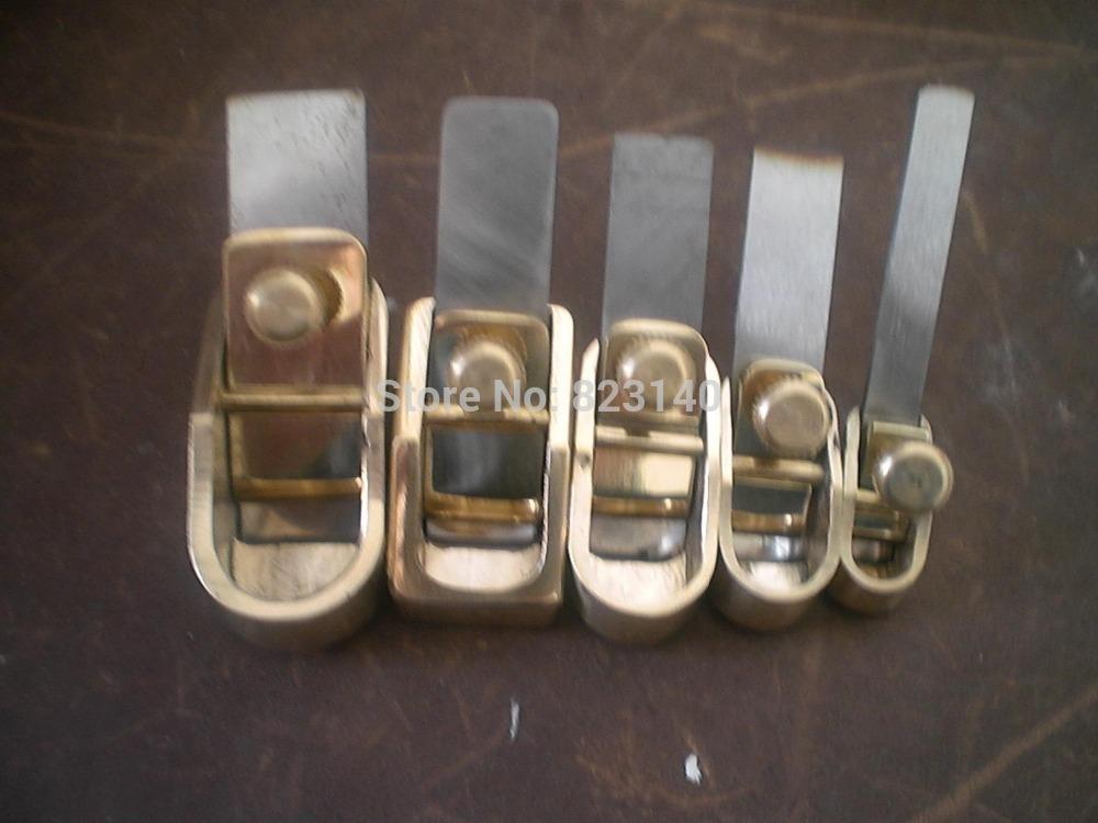 5pcs various Mini brass planes Violin making tool