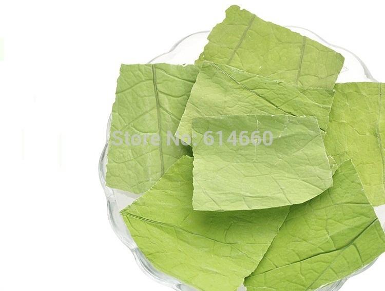 Buy 5 get 1 100g chinese tradition medicine herbal lotus leaf decrease to lose weight, slimming tea,burning fat,free shipping(China (Mainland))
