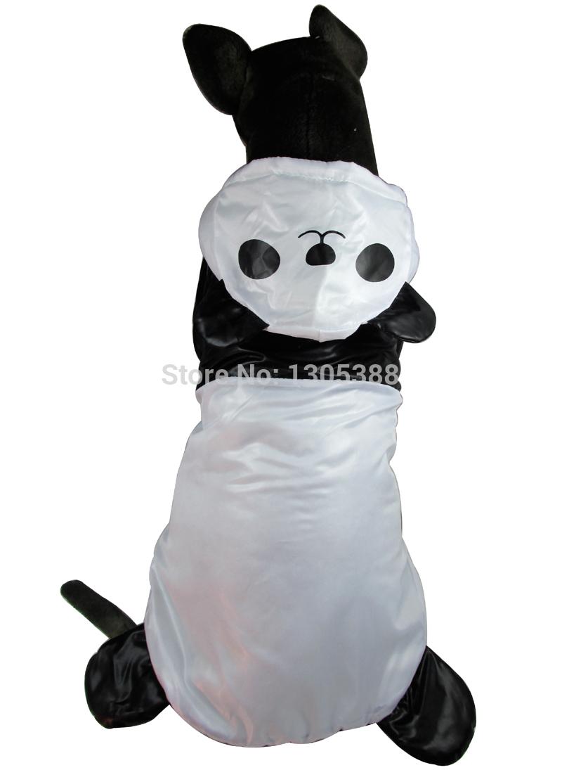 Wind lining Panda Design Pet dogs Coat Free Shiping By CPAM Medium Large Dogs Clothing(China (Mainland))