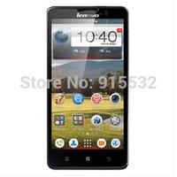5.0 inch Lenovo P780 quad core MTK6589  1280x720 screen 1G ram 4G rom WCDMA  android smart phone