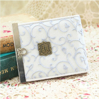 2014 New fashion original lovely lady wallet clutches white women Purse short small bag card holder,1 pce wholesale.