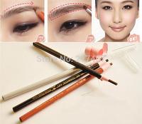 5 Colors Long Lasting Eyebrow Pencil Eye Brow Eyeliner Pencil Eyebrow Enhancers Light/Dark Coffee Black Gray