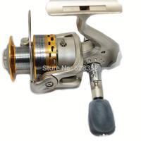 New Arrive 6BB Gear Ratio 5.1:1 SG6000A Spinning Fishing Reel 6 Ball Bearings Spinning Metal Spool Fish Wheel Fly Fishing Reel