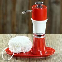 Creative Arti New Design Ceramic Bathroom Liquid Soap Dispensers, Four Color, Free shipping