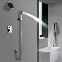 50005/4 Contemporary Shower Set Wall Mounted Waterfall Bathtub Faucet Brass Waterfall Bath Tap Mixer Faucet